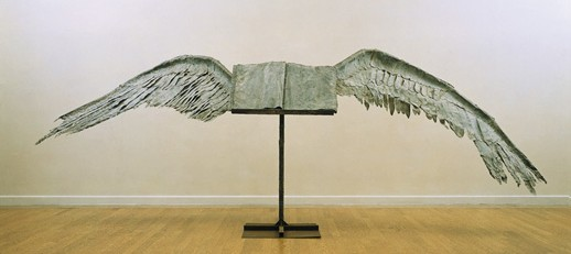 book with wings