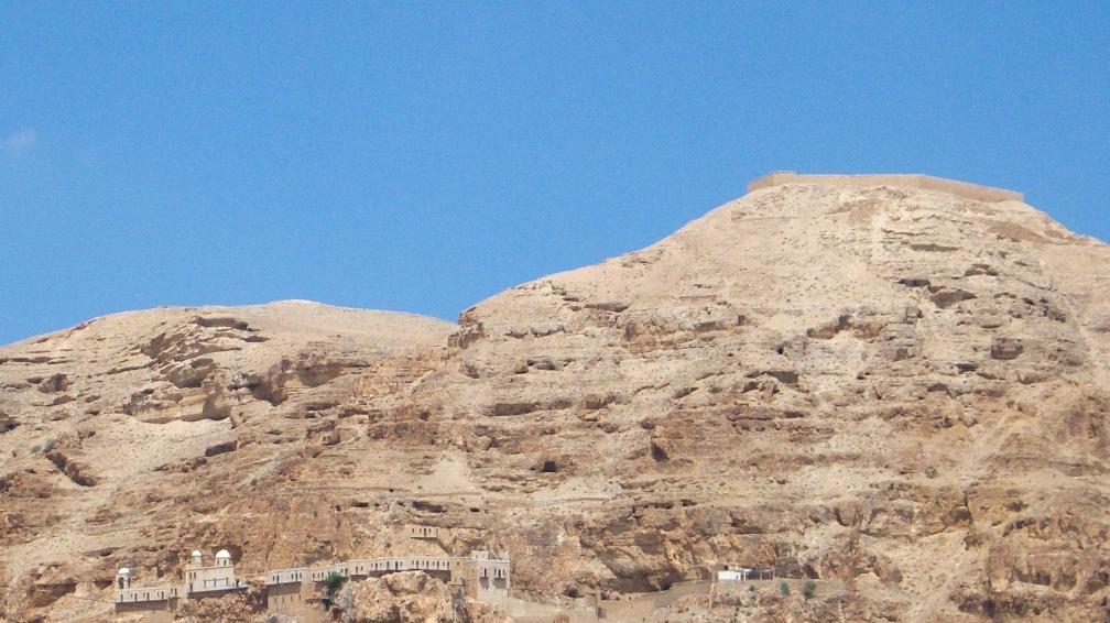 Monastery overlooking Jericho