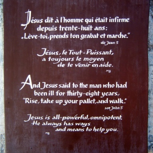 Bethesda plaque
