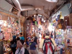 Jerusalem street shops