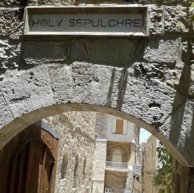 Sepulchre plaque