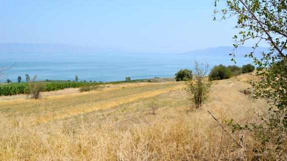 Mount of the Beatitudes overlook