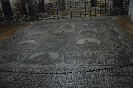 Sepulchre floor