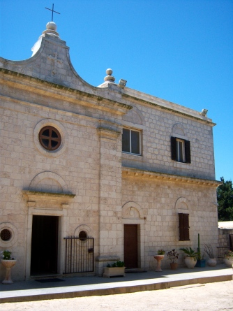 The Discalced Carmelite monastery on top of Mt. Carmel