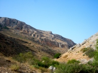The valley below Arbel