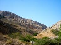 The valley below Arbel