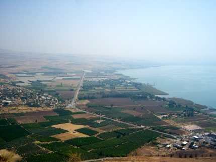 """The Northwest shore of the Sea of Galilee is called """"the Evangelical Triangle"""" because it is in this region that a majority of Jesus' ministry -- both teaching and miracles -- took place."""