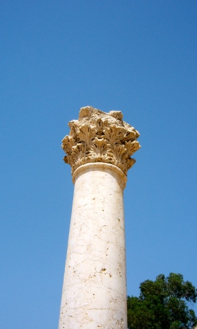 Column with Corinthian capital
