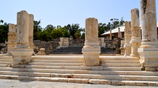 Steps to Palladius street and market